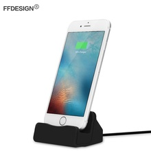 USB Charger For iPhone Charger Dock Docking Station For iPhone X 5 SE 6 7 8 Plus Charging Station Dock Base Stand Cradle Sync charge and sync dock station cradle for iphone 5 5c 5s 6 6s
