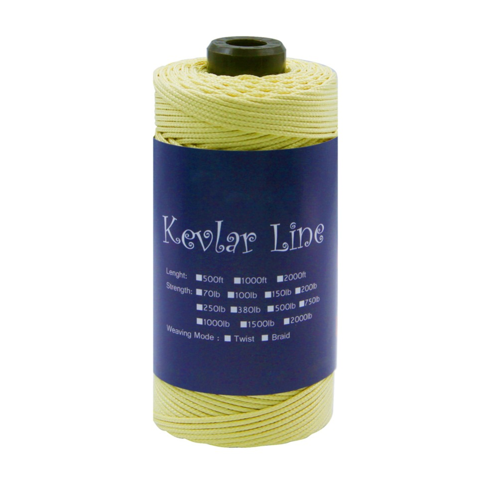ФОТО 500ft /152M 750LB Kevlar Line Kite String Outdoor Braided Fishing Line For Camping Hiking Garden Cord Rope