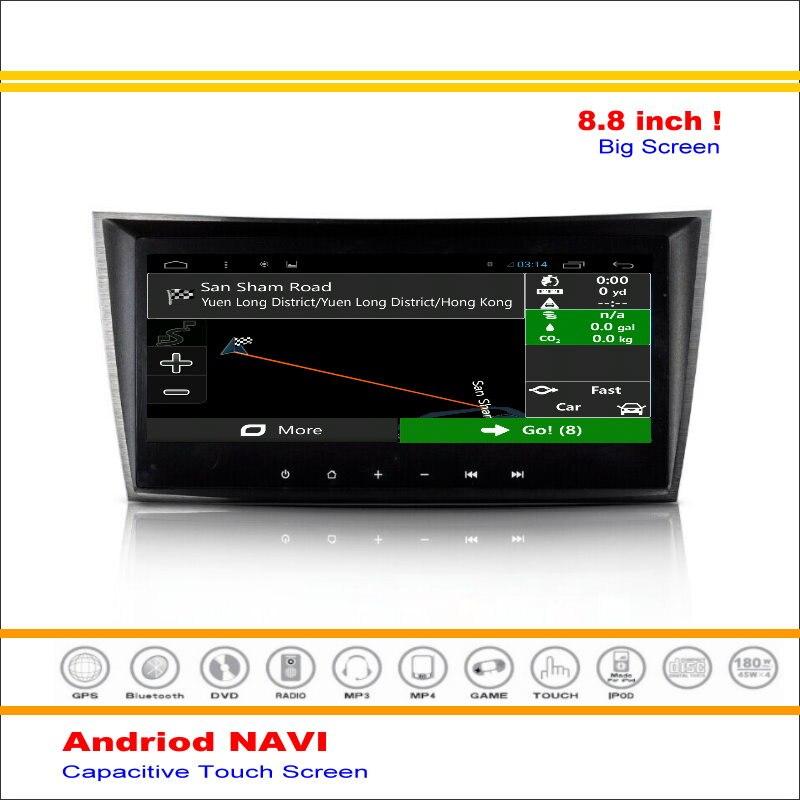 Coche Android Sistema de Navegación GPS NAVI Para Mercedes Benz E300 E320 E350 E