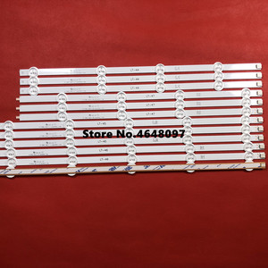 Image 2 - New Part 12 PCS/set LED Strip perfect Replacement for LG47 Inch LC470DU 47LN5200 47LN5400 47LN5700 47LN5750 47LN5700