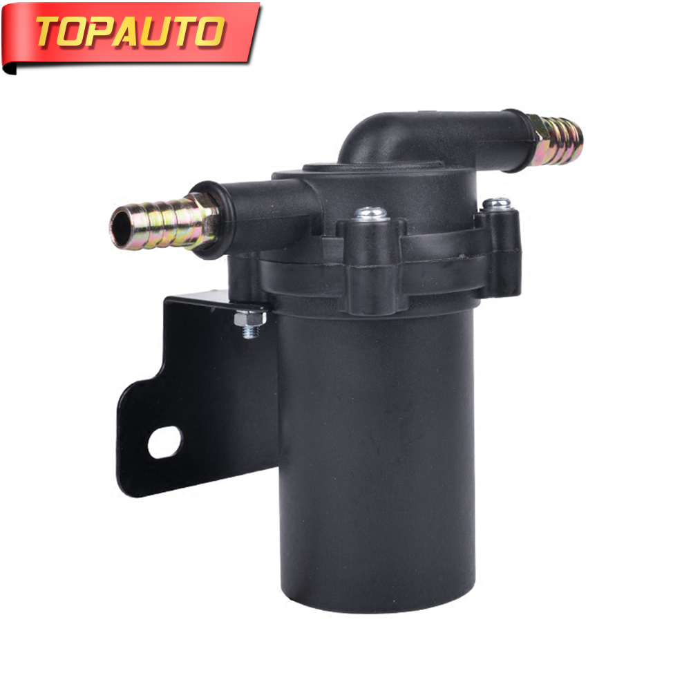 TopAuto 12V/24V Auto Heater Circulating Water Pump Modified Pump Forced Circulation Pump Brushless Motor Pump Auto Accessories 12v 24v 160w 38mm accelerate water circulation auto electric a c heater water pump strengthen a c heating for car truck