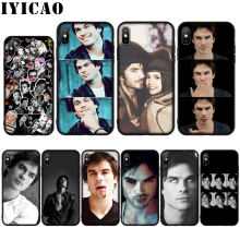 Vampire Diaries Ian Somerhalder étui pour iphone 11 Pro Max XR X XS Max 8 7 6 6S Plus 5 5S SE(China)