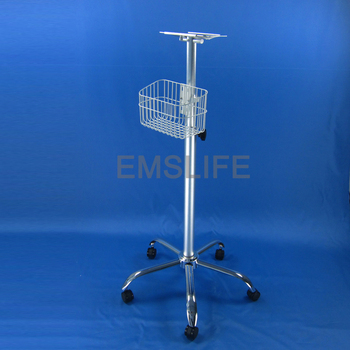 medical trolley for patient monitors medical devices hospital furniture