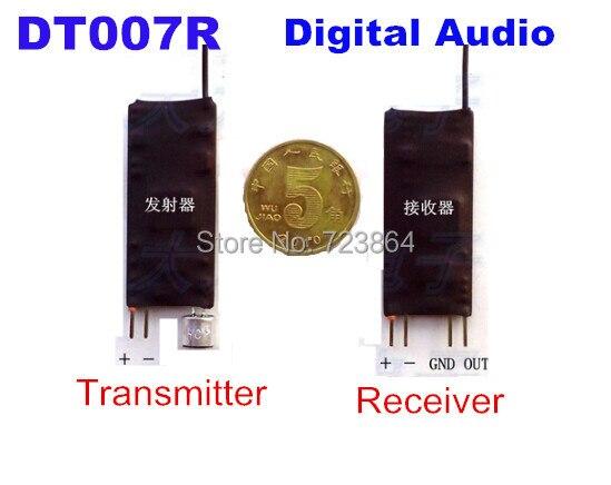 UHF Digital Signal Wireless Audio Transceiver Transmitter Module + Receiver Module