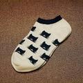 Wholesale Summer Solid Thin Short Women's Socks Female Cotton Low Cut Ankle Socks Ladies Colorful Cute Socks Boat1pair=2pcs WS58