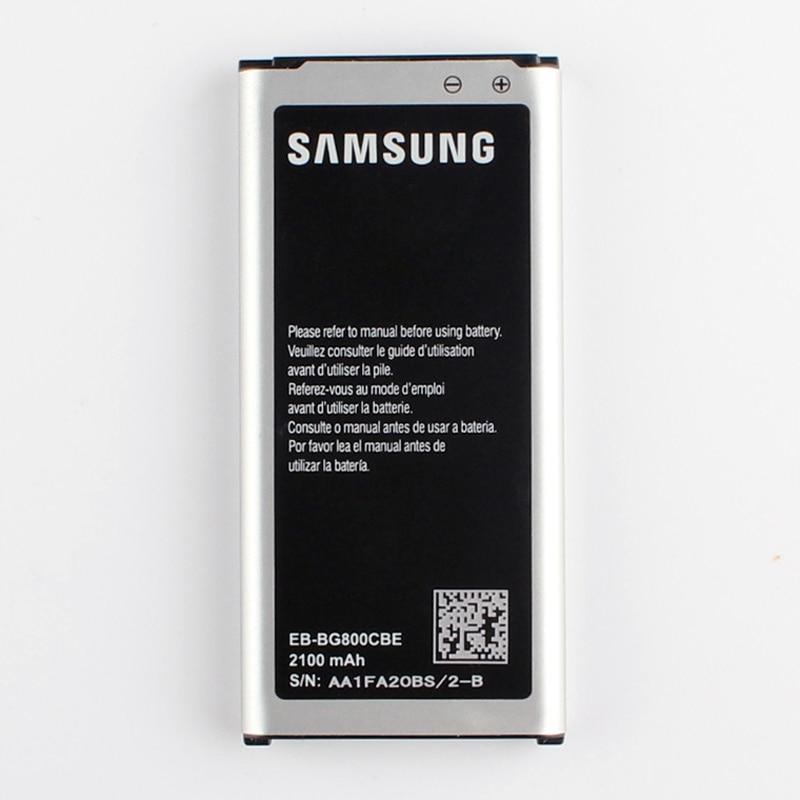 Original Replacement Battery EB-BG800CBE For Samsung GALAXY S5 mini SM-G800F G870A G870W EB-BG800BBE with NFC Function 2100mAh