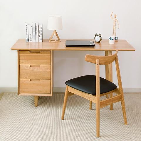 bureau chene massif moderne rx47 jornalagora. Black Bedroom Furniture Sets. Home Design Ideas