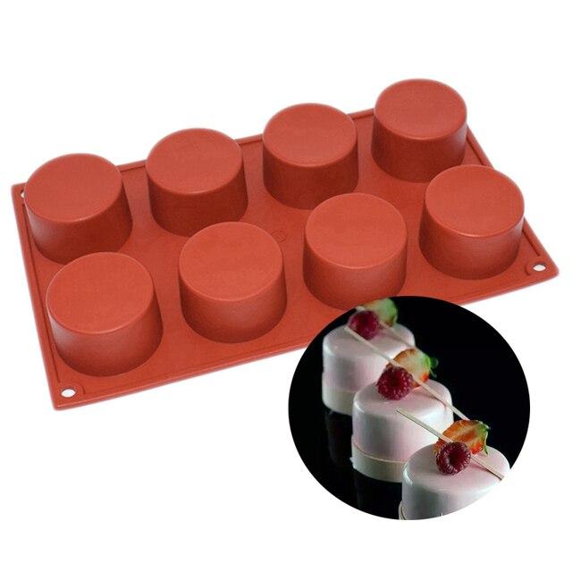 Diy 8 Loch Kleine Mini Runde Zylinder Saulenschalung Form Einfache