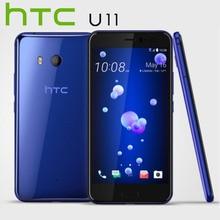 La UE versión HTC U11 4G LTE móvil teléfono IP67 Snapdragon 835 Octa Core 4 GB RAM 64 GB ROM 5,5 pulgadas 2560×1440 p Android Teléfono Inteligente