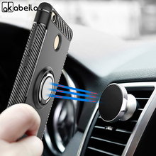 AKABEILA Case For Xiaomi Mi 9 Silicone Soft TPU Magnetic Car Finger Ring Holder Kickstand Cover mi9 Bumper