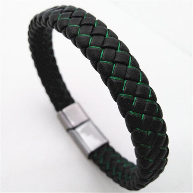 Braided Handmade Leather...