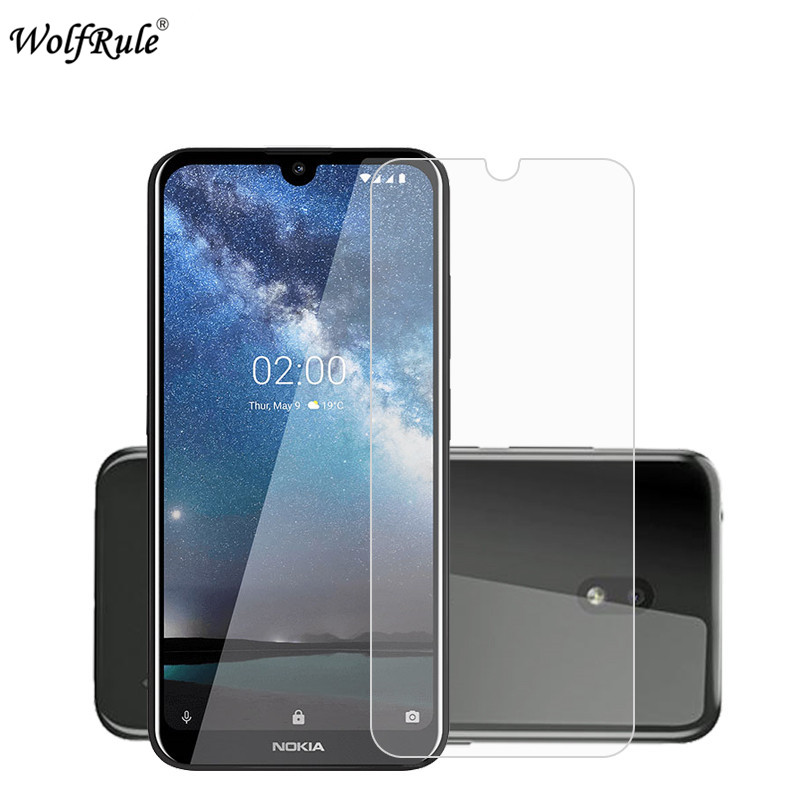 2PCS Screen Protector For Nokia 2.2 Tempered Glass For Nokia 2.2 Protective Film Ultrathin Phone Glass For Nokia 2.2 5.71