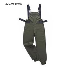 Waist Harem Zipper Pockets