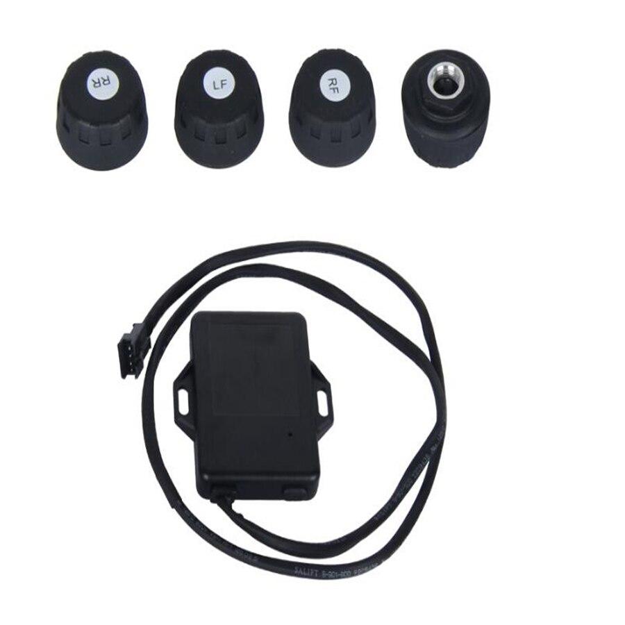 TPMS pour Android voiture DVD voiture surveillance de la pression des pneus 4 capteurs alarme système de surveillance de la température des pneus