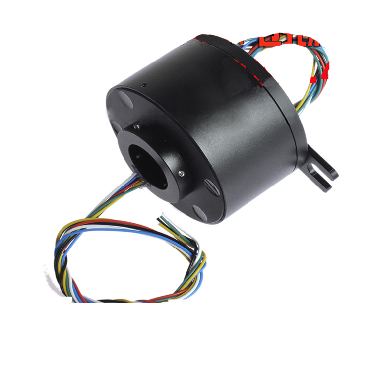 Hollow Shaft Slip Ring 25.4mm Hole Diameter Large Slip Ring 6CH 12CH 18CH 10A Out Dia.86mm Rotation Joint Connector Slip Rings elephant hollow out alloy ring