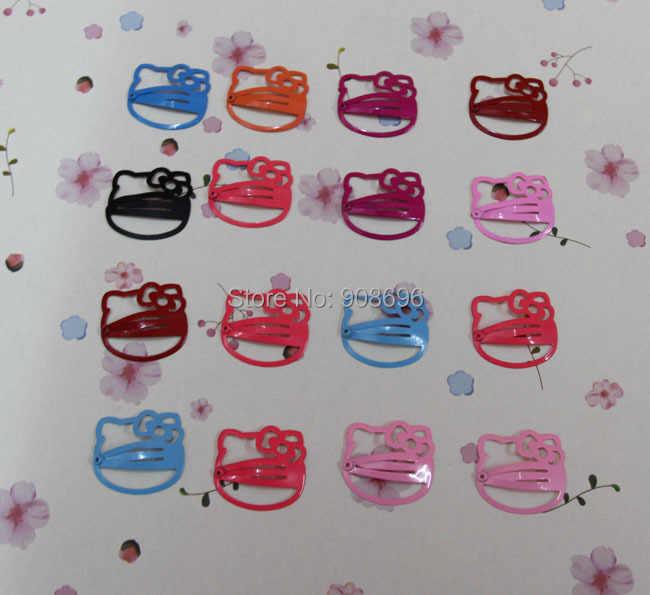 e1feeaab7 ... wholesale 36PCS Hello Kitty hair clips headwear bobby pin hairpins  ornaments children accessories free shipping