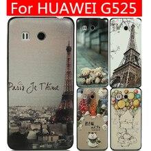 Jinsuli для HUAWEI G525 чехол HUAWEI G525 чехол для 24 шаблон видов черная сторона чехол
