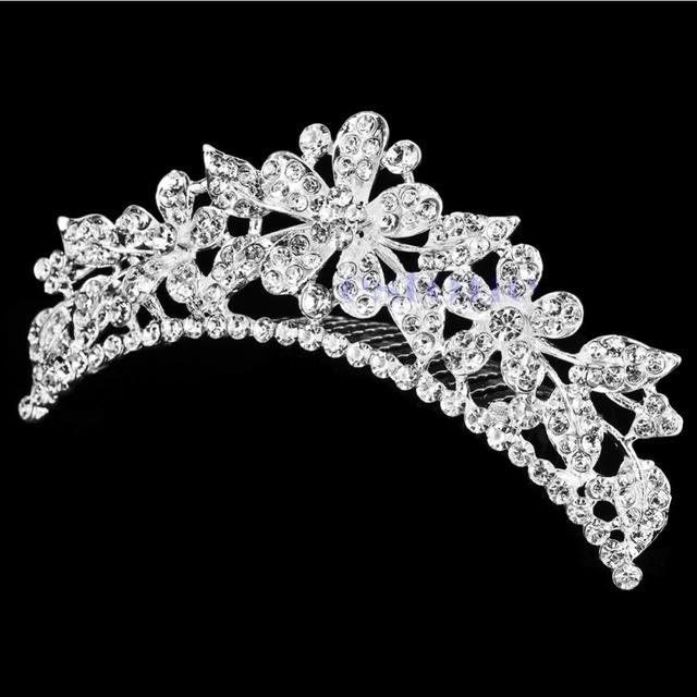 Bridal Austrian Crystal Tiara