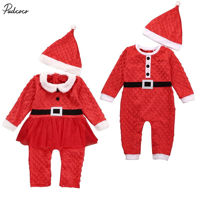 6355902287cc 2Pcs Babies Christmas Gifts Clothing Autumn Winter Infant Baby Boys ...