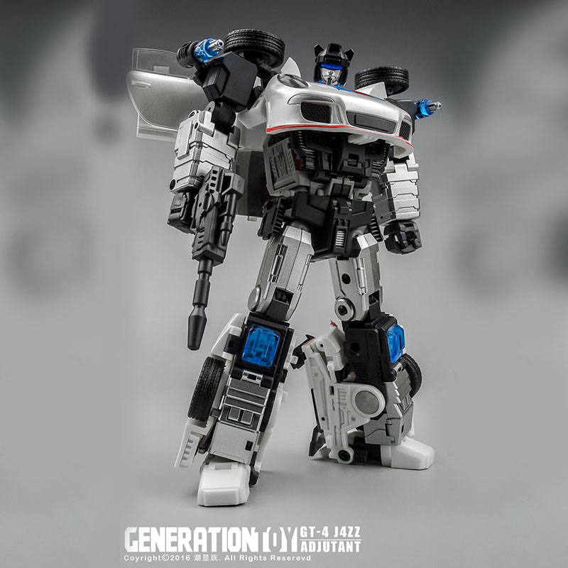 (IN STOCK) Toys Generation Toy GT-04 JAZZ J4ZZ