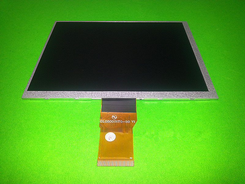 Original 8 inch for GL080001T0-50 V1 LCD display for Newman T9 monokaryon Tablet PC TFT LCD display Screen panel (without touch) original new 8 0inch gl080001t0 50 v1 lcd display for newman t9 monokaryon tablet pc tft lcd display screen panel free shipping