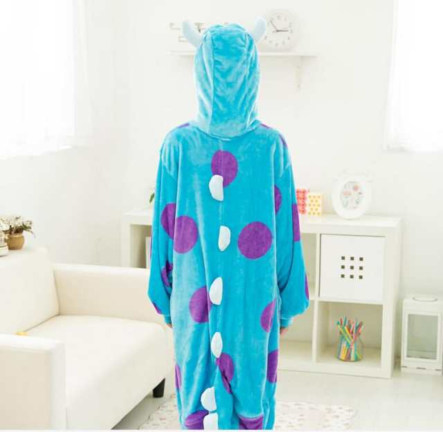 0f92460d00 placeholder Blue Monster University Sulley Sullivan Onesies Pajamas Cartoon  Costume Cosplay Pyjamas Adult Animal Onesies Party Pijamas