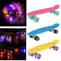 ANCHEER Skateboard For Children Road Longboard Skid Resistance Skate Board 4 Wheels Anti shock Outdoor Long Board