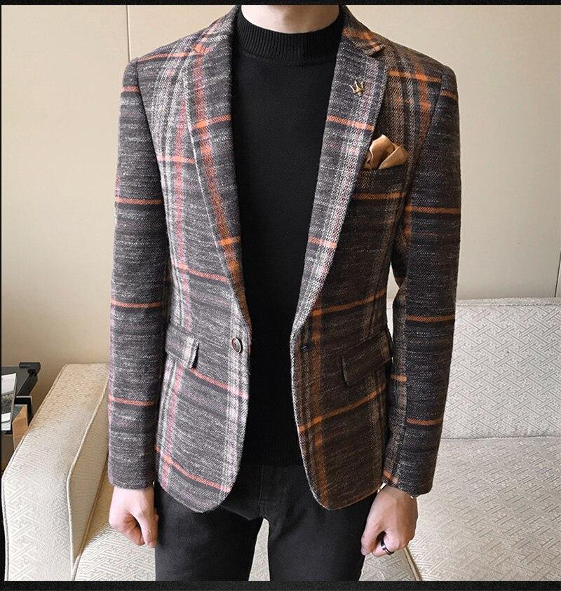 Mens Designer Blazers Jacket Suit   (18)