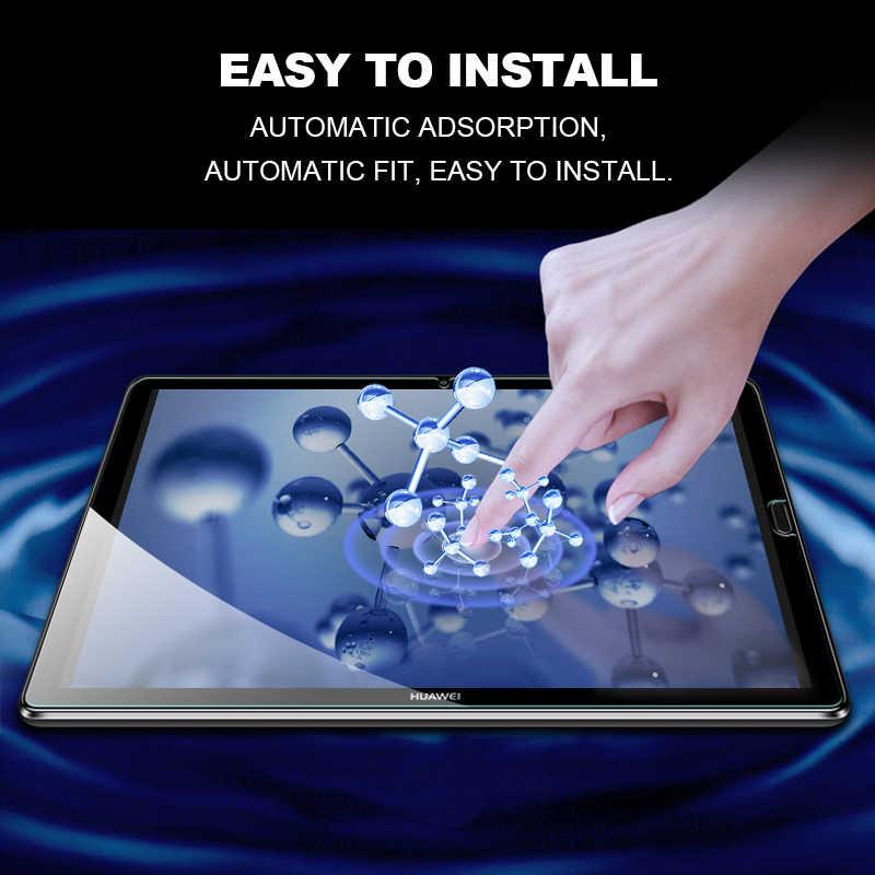 Temperli cam için Huawei T5 10 cam Tablet ekran koruyucu için Mediapad M5 lite Pro M6 10.8 8.4 M3 Lite 10.1 8 T3 Film