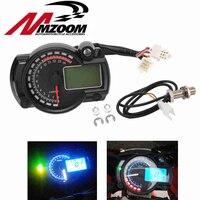 2016 New 15000rpm Modern KOSO RX2N Similar LCD Digital Motorcycle Odometer Speedometer Adjustable MAX 299KM H