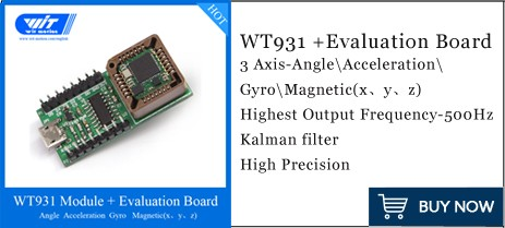 TTL Level with BeiDou GPS navigation position tracker WitMotion WTGAHRS2 10-axis High-stability IMU Sensor High-precision Accelerometer+Gyro+Angle+Magnet+Air Pressure+GPS+Ground Speed Measuring