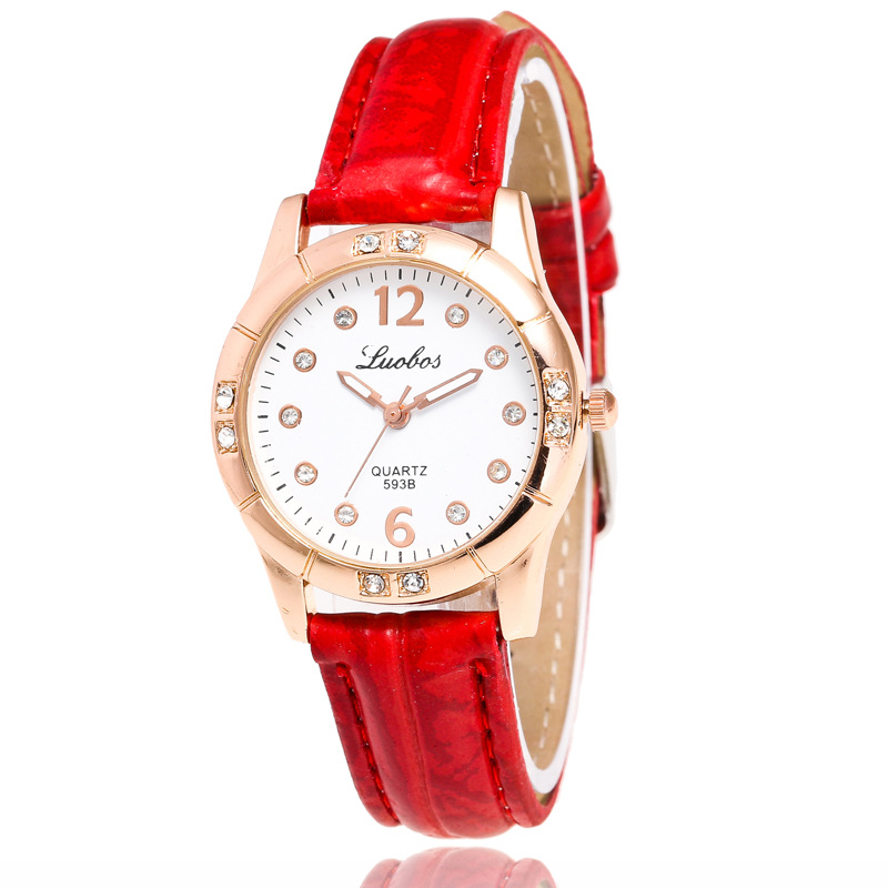 Good quality Korean edition trendy ladies watches stainless steel leather quartz wristwatches students watchesGood quality Korean edition trendy ladies watches stainless steel leather quartz wristwatches students watches