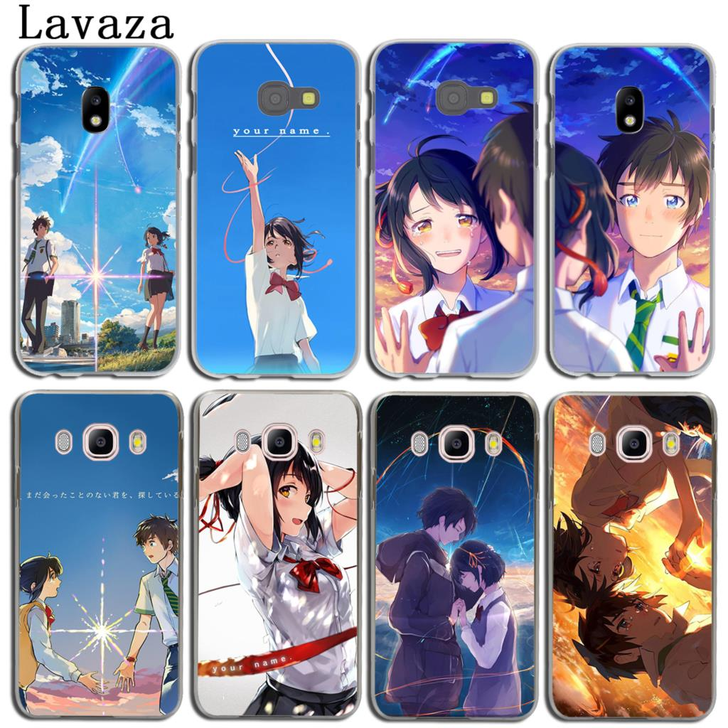 Lavaza Japan anime your name boy Kiminonawa Phone Case for Samsung Galaxy J3 J1 J2 J7 J5 2015 2016 2017 J2 Pro Ace J7 J5 Prime ...