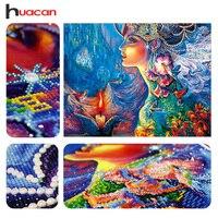 Huacan DIY Diamond Embroidery 5D Diamond Painting Diamonds Mosaic Fantasy Special Rhinestone Cross Stitch Needle Christmas