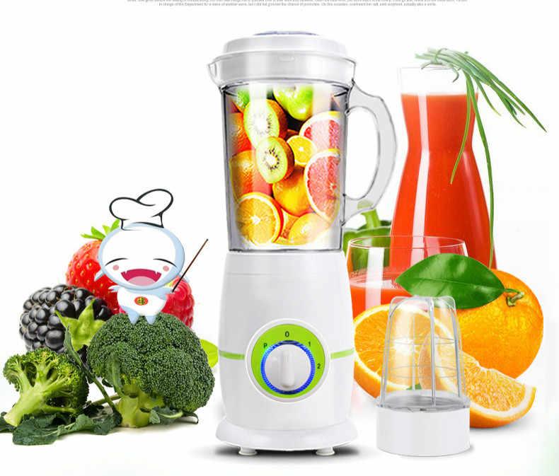 Liquidificadores Juicer USA totalmente automático máquina de suco de frutas e vegetais multi-funcional pequeno fritar. NOVO