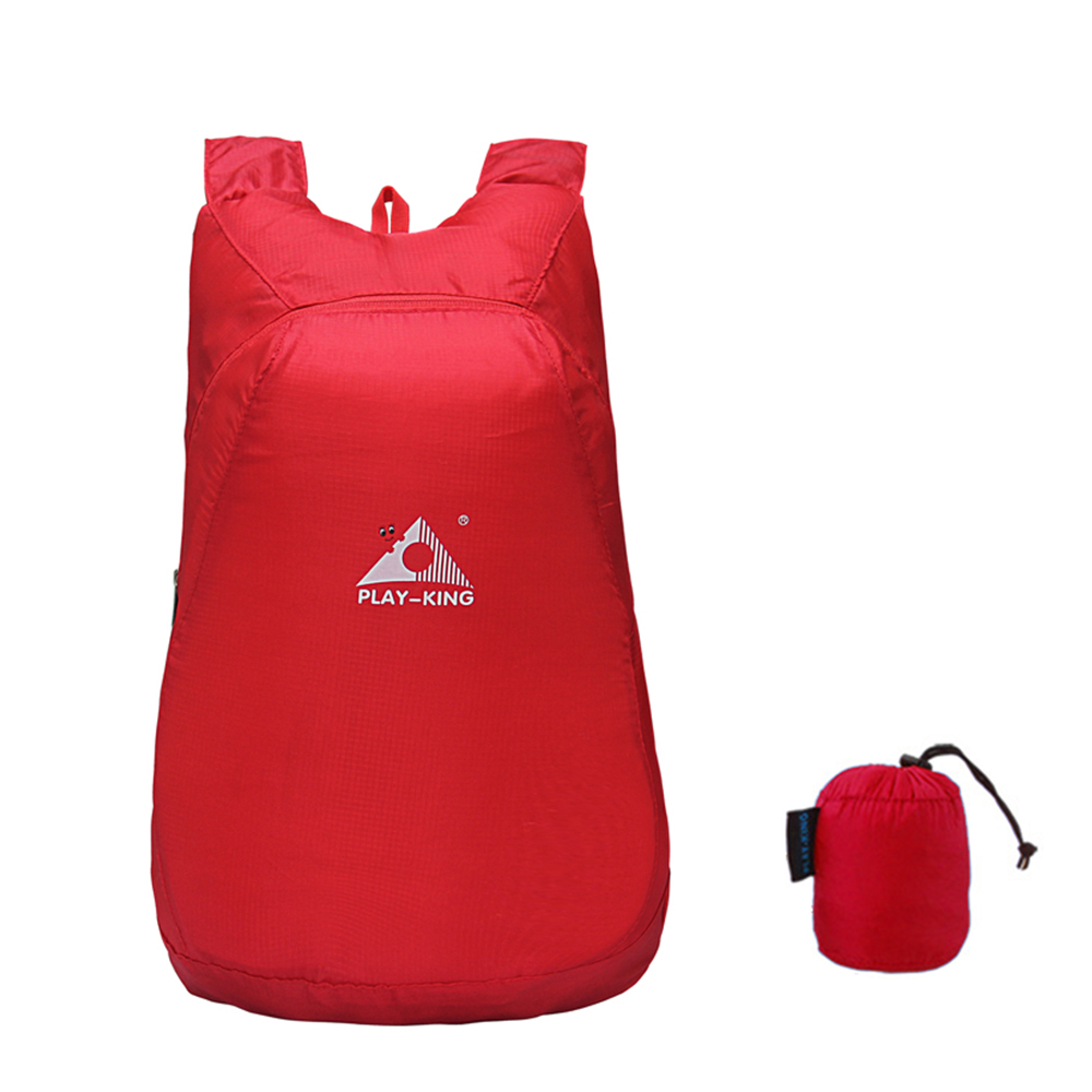 1ff60c81d4b1 20L Lightweight Packable Backpack Foldable Outdoor Camping Hiking Cycling  Handy Travel Daypack Bag 75g Backpack-in Climbing Bags from Sports    Entertainment ...