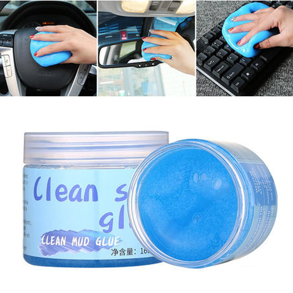 Universal Car Cleaning Gel For PC Tablet Keyboards Car Vents Cameras Printers Calculators Multi Function Magic Dust Removal|Car Wash Mud|Automobiles & Motorcycles - title=