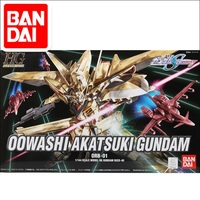 Original Japaness Gundam Model HG 1/144 00WASHI AKATSUKI SEED DESTINY GOLDEN GUNDAM Mobile Suit Kids Toys