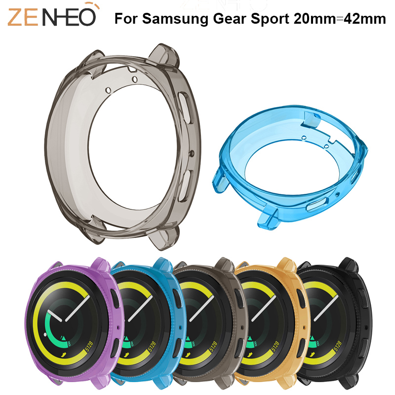 TPU Protector Case Cover Shell For Samsung Gear Sport Watch Protective Shell Cover 360 Degree Frame For Samsung Gear Sport Cases