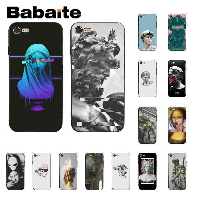 Babaite Newest special edition art David sculpture Phone Case for iPhone 8 7 6 6S Plus X XS MAX 5 5S SE XR 10 11 11pro 11promax