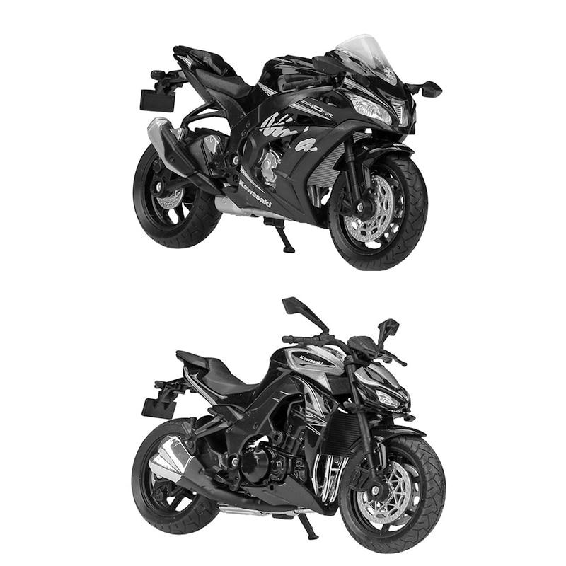 Welly 1:18 Kawasaki 2017 NINJA ZX10-RR Sports Motorcycle Bike Model Toy IN BOX