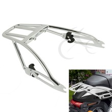 Chrome Two-Up Luggage Rack For Harley Davidson Street XG 500 750 2015-2017
