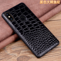 Luxury Genuine Leather Phone Case for Xiaomi MIX 3 Case Tempered Glass Screen Protector for Xiaomi MIX3 Slim Back Skin Cover Bag