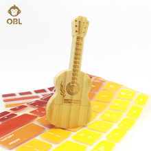 Hardcover Guitar USB Flash Drive 128GB 64GB 32GB 16GB 8GB 4GB Flash Memory PenDrive Pen Drive Memory Stick USB Stick Flash Gifts