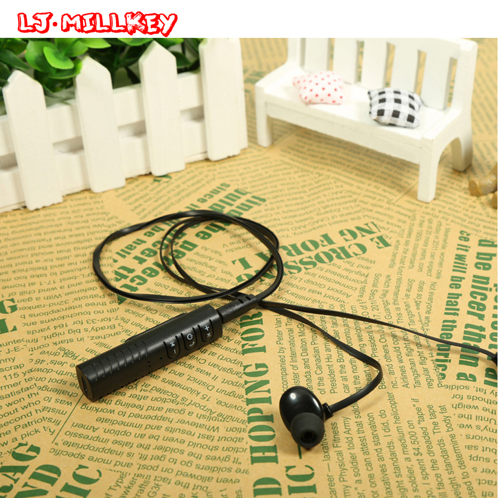 цены Portable Wireless Adapter Bluetooth Receiver 3.5mm Jack Handsfree Audio Aux for Speaker Earphone Headset LJ-MILLKEY LZ002-1