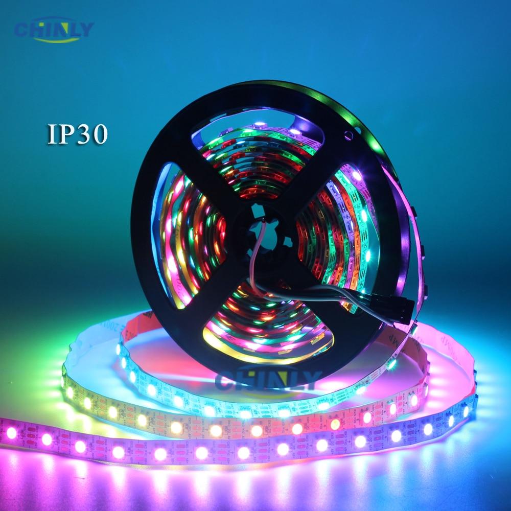 WS2812B LED sloksnes individuāli adresējamas RGB Smart pikseļi - LED Apgaismojums - Foto 3