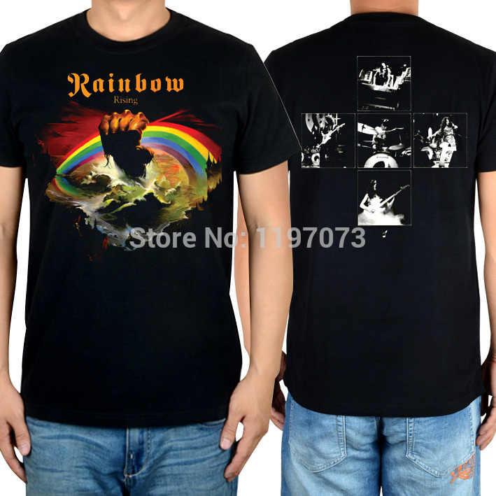 f0d1241b1 Long Live Rock 'n' Roll Rainbow album cover men's black hard rock classic  100