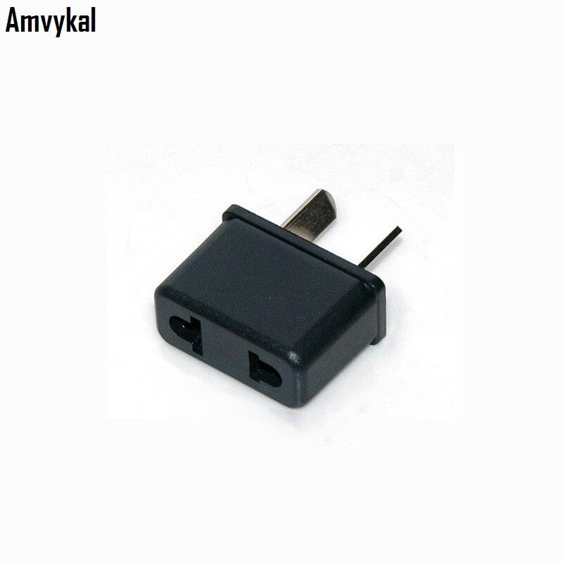 Amvykal Universal Travel 2 Pin AC Power Electrical Plug Adaptador Converter EU US To AU Plug Adapter Connector 500 Pcs/lot