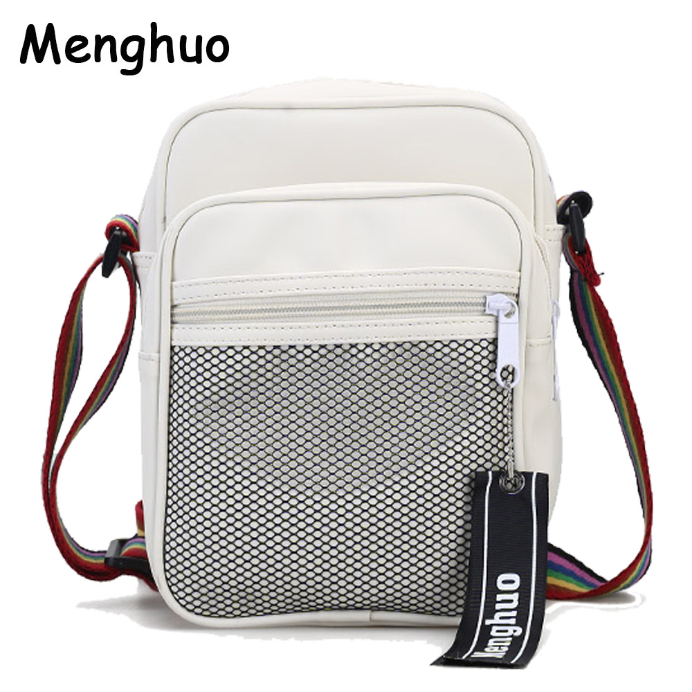 Menghuo Men Women Crossbody Bag Unisex Cheap Nylon Messenger Bag Travel Casual Shoulder Bag Leisure Fashion Bags Bolsos Mujer 2016 outdoor shoulder bag unisex nylon casual travel multi phone pouch messenger pockets bags new arrival diagonal package 1pcs