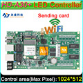 Full Color Asynchronous Controller Card,  HD-A30+ WiFi large display sending card, DIY LED display screen controller